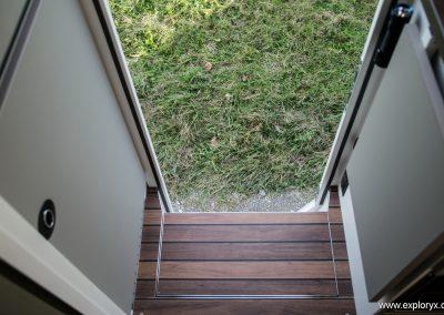Eingangstreppe Wohnmobil