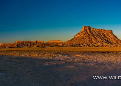 Factory Butte, Coal Mine Road, Hanksville, Utah