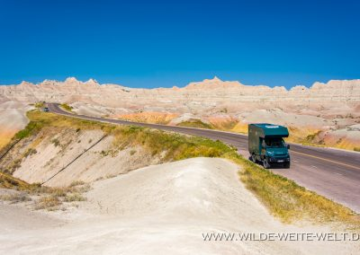 Yellow Mound Overlook, Badlands National Park, South Dakota