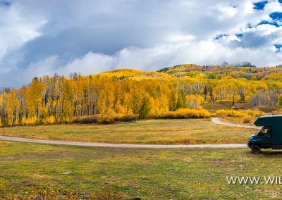 Horse Ranch Park, Kebler Pass, Gunnison National Forest, Colorado