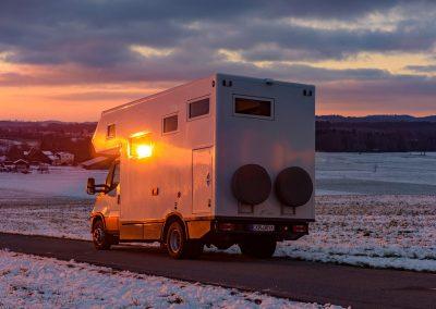 Exploryx Reisemobil Eland Außenansicht