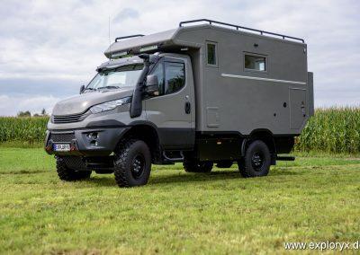Iveco Daily Expeditionsfahrzeug