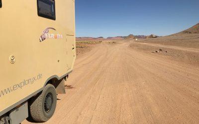 Während des Corona-Lockdowns in Marokko