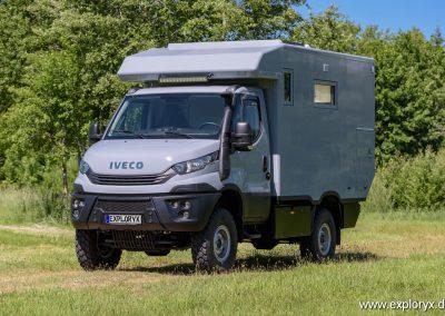 Expeditionsfahrzeug Iveco Daily