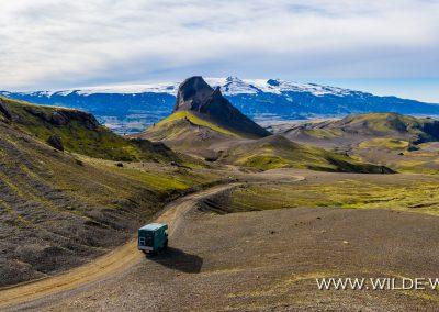 Einhyrningur und Eyjafjallajökull