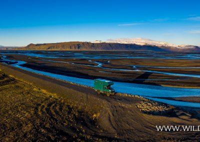 Markarfjlot mit Eyjafjallajökull