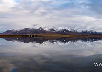 Tröllaskagi Mountains Reflection